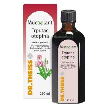 Mucoplant Sirup Bokvica 250 mL